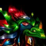 Chinese Dragon image for Zhonghe Festival at Lu Ban Restaurant Liverpool