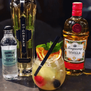 Tanqueray gin cocktail