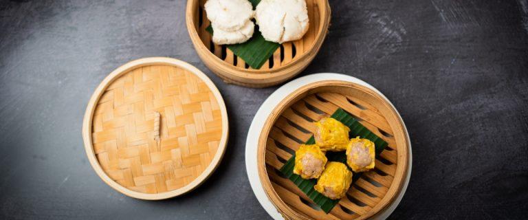 Dumplings for Dim Rum at Lu Ban