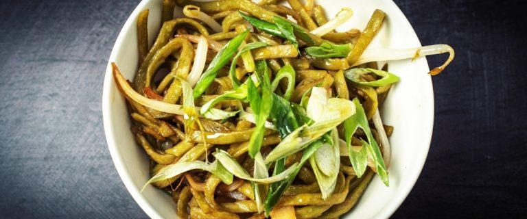 Noodles for Dim Rum at Lu Ban